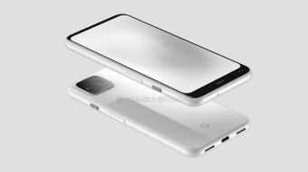 Google Pixel 4 Weiss Render Leak