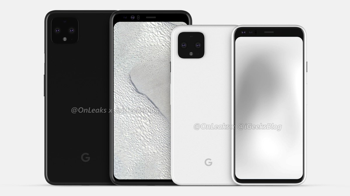 Google Pixel 4 Xl Render Header