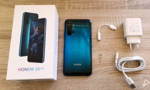 Honor 20 Pro Lieferumfang