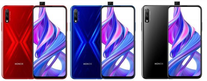 Honor 9x Farben