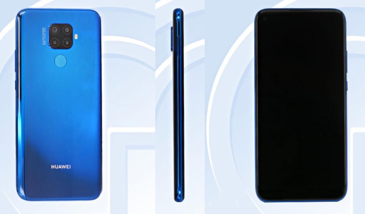 Huawei Mate 30 Lite Tenaa