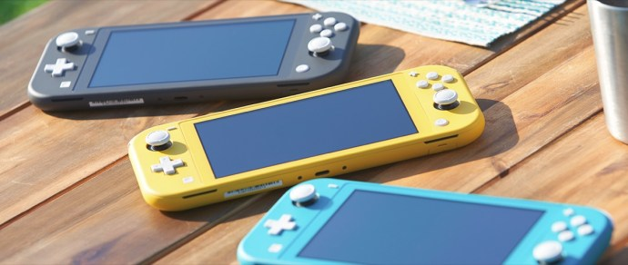 Nintendo Switch Lite Header
