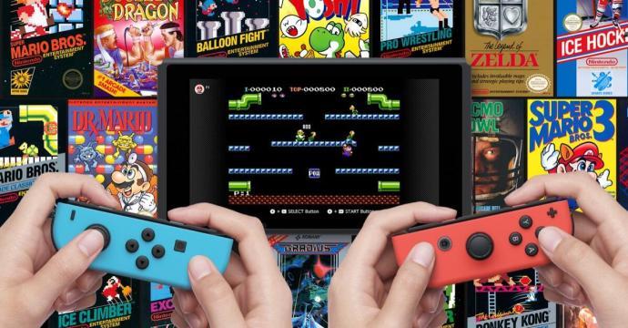 Nintendo Switch Online Nes Header