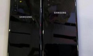 Samsung Galaxy Note 10 Dummys