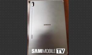 Samsung Galaxy Tab S6 Leak Back