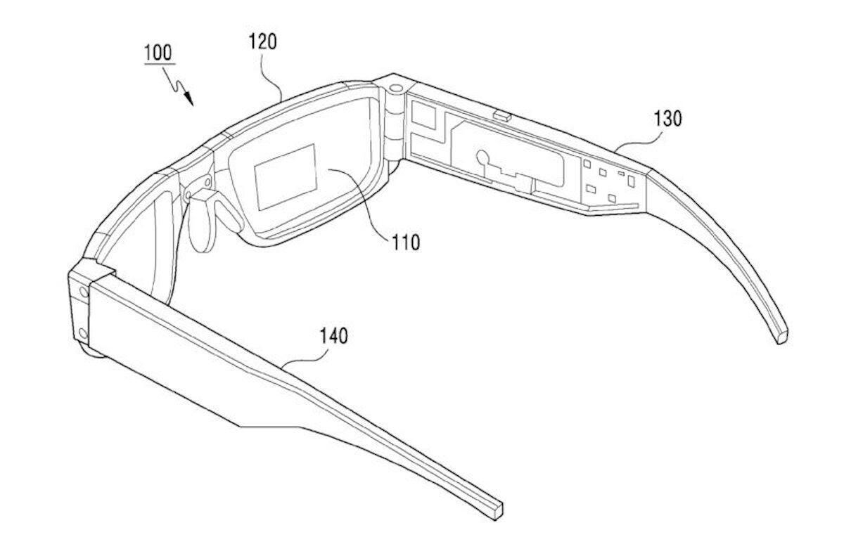 Samsung Patent Ar Brille