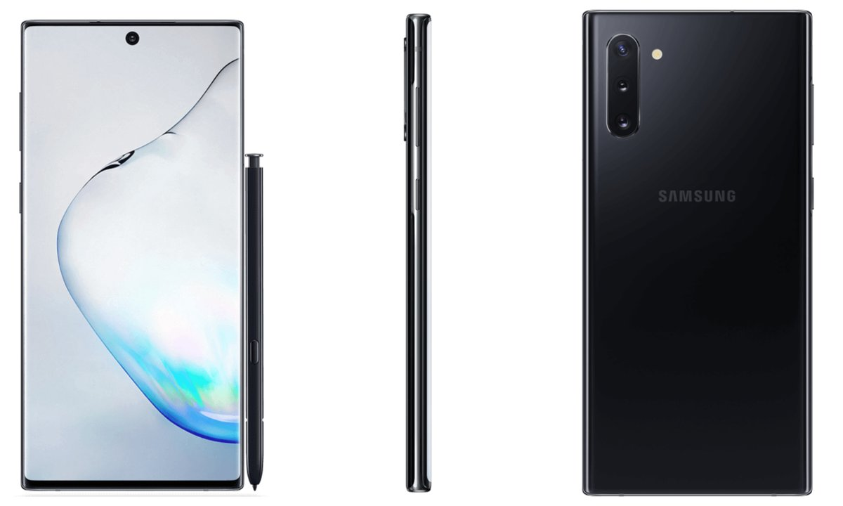 Samsung Galaxy Note 10 Black Leak