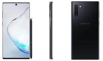 Samsung Galaxy Note 10 Black Leak