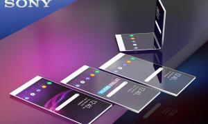 Sony Xperia Faltbar Konzept