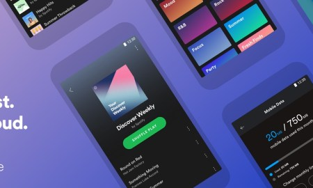 Spotify Lite Header