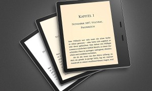 Amazon Kindle Oasis Farbtemperatur