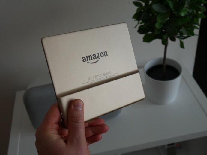 Amazon Kindle Oasis Test2
