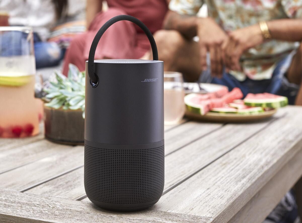 Bose Portable Home Speaker Header