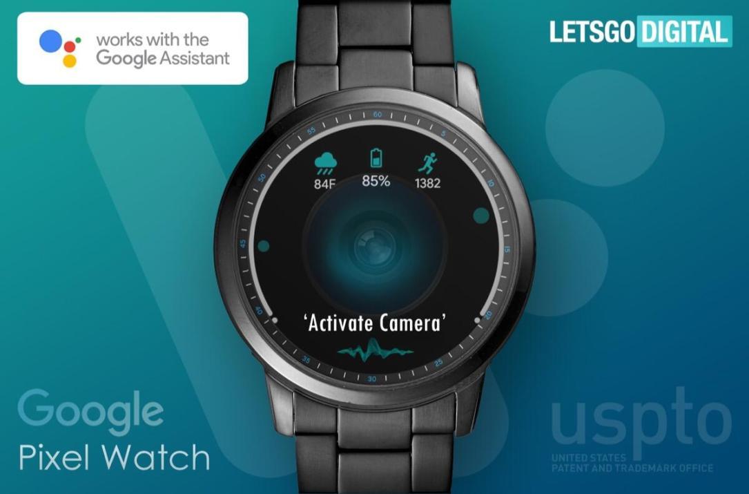 Google Pixel Watch Mockup