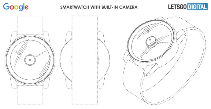 Google Pixel Watch Patent