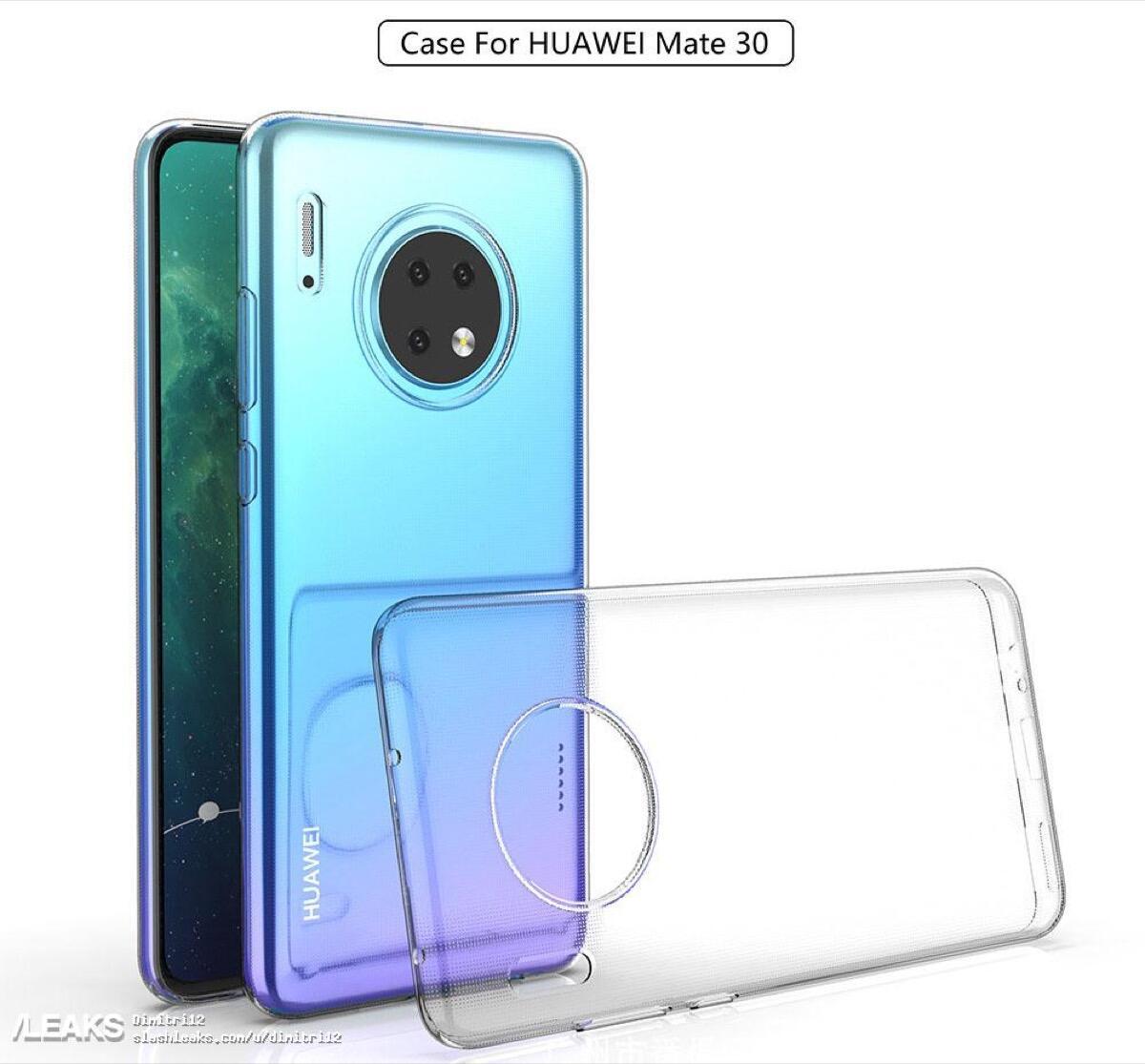 Huawei Mate 30 Case Leak