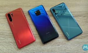 Huawei P30 Pro Huawei Mate 20 Pro Huawei P20 Pro