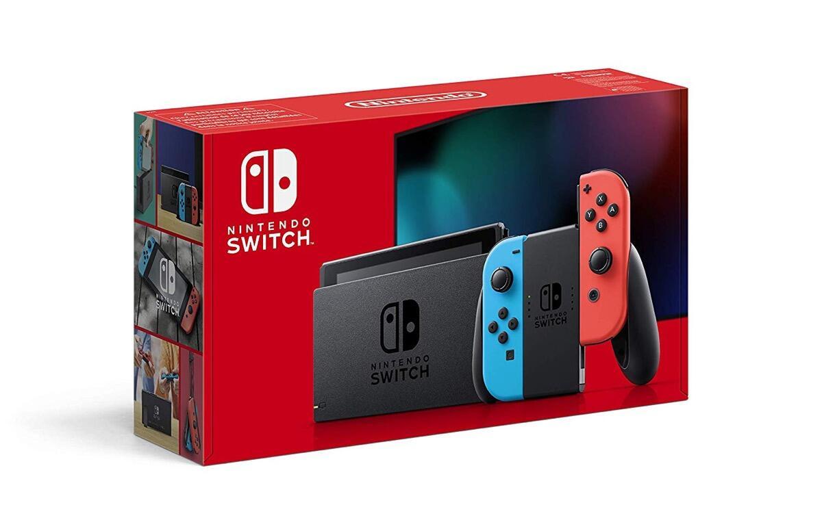 Nintendo Switch Verpackung Neu