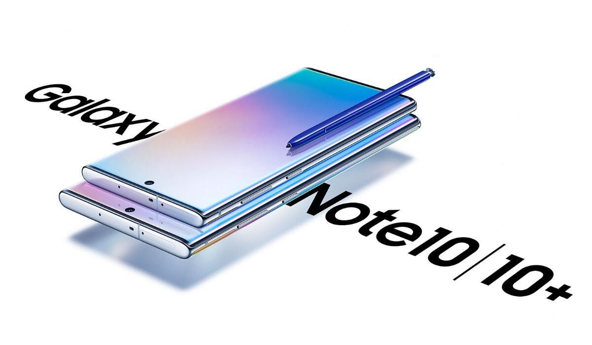 Samsung Galaxy Note 10 Header