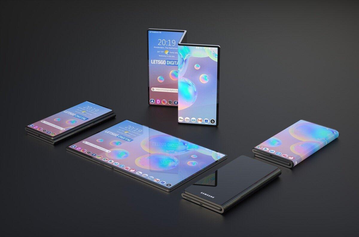 Samsung Patent Faltbar