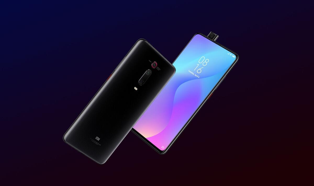 Xiaomi Mi 9t Pro Schwarz Header