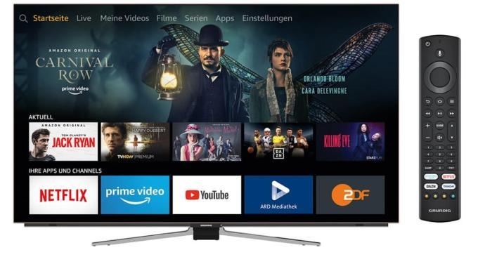 Amazon Grundig Oled Fire Tv Alexa