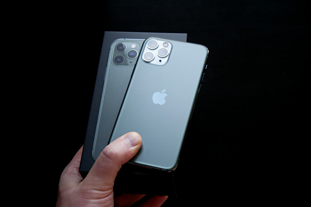 Apple Iphone 11 Pro Box Header