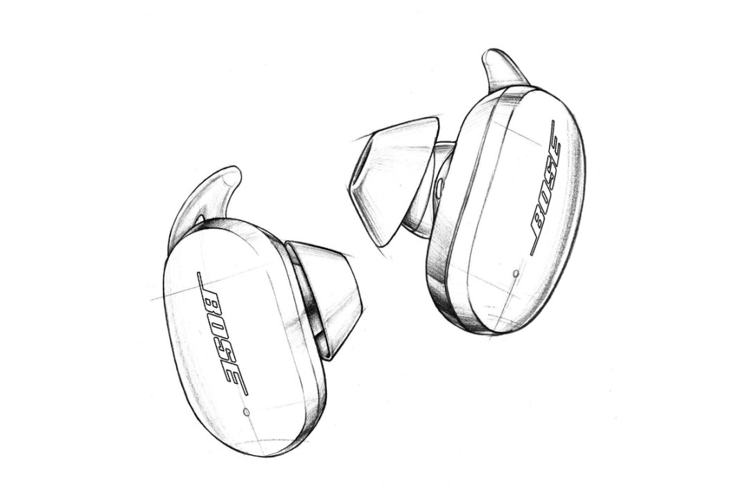 Bose Noise Cancelling Earbuds 700 Skizze