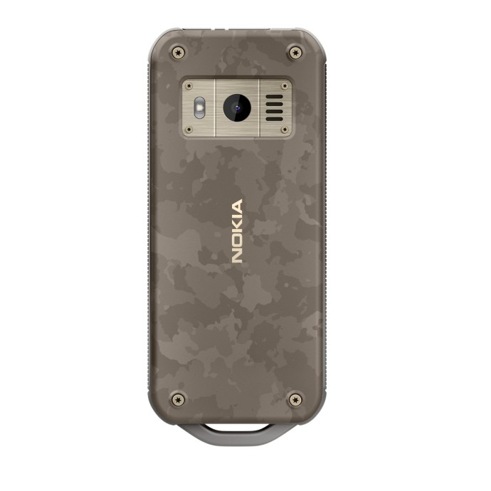 Nokia 800 Tough Camouflage
