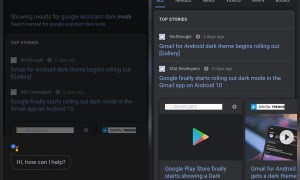 Google App Assistant Android Dark Mode