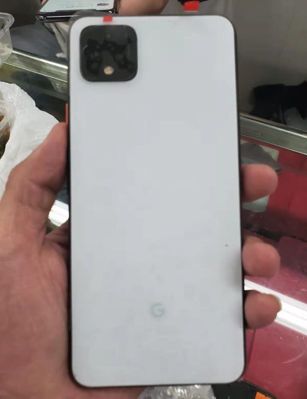 Google Pixel 4 Weiss