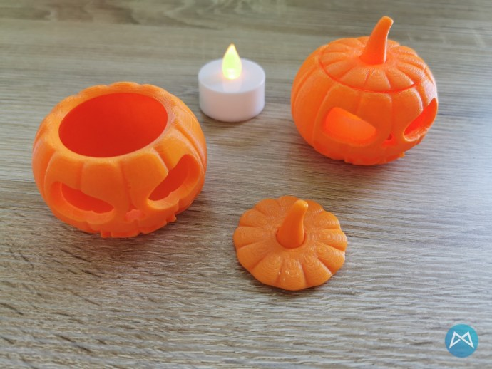 Halloween Pumpkin Printfluencer Ortur 4 V1 Test 2019 09 19