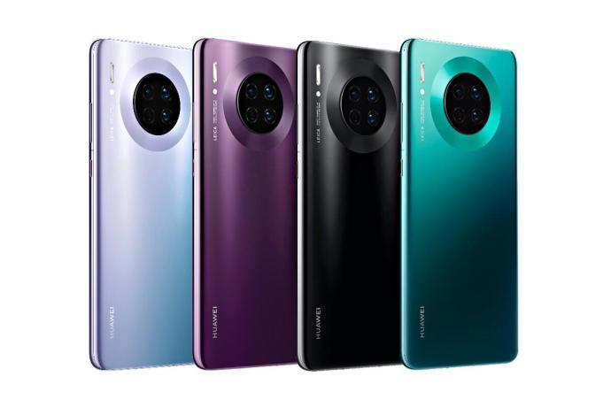 Huawei Mate 30 Farben