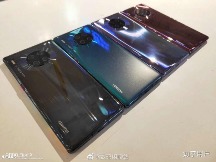 Huawei Mate 30 Pro Farben Echt