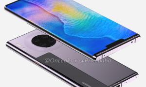 Huawei Mate 30 Pro Render2
