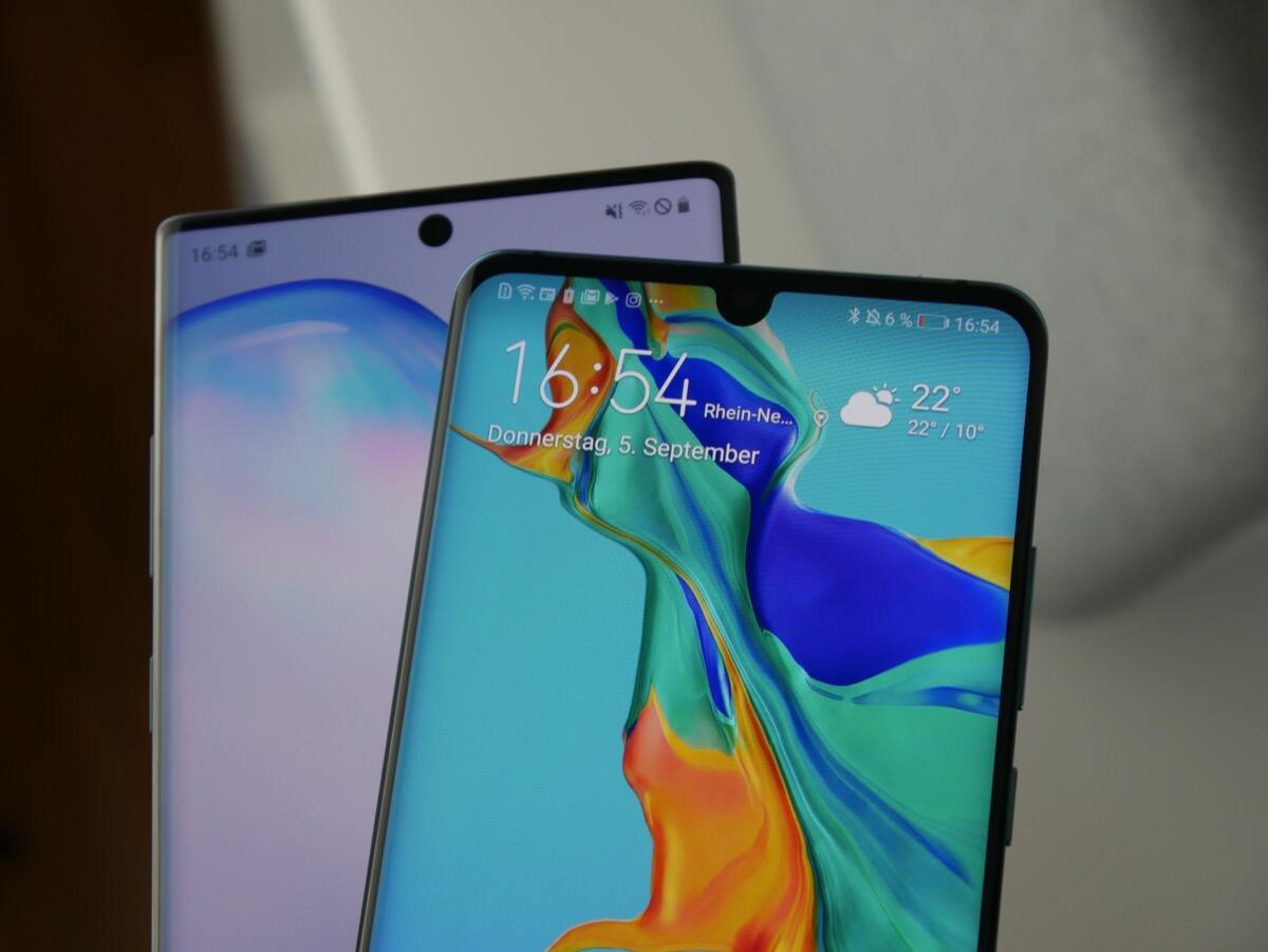 Huawei P30p Samsung Gn10 Test1