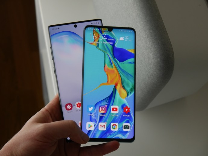 Huawei P30p Samsung Gn10 Test2