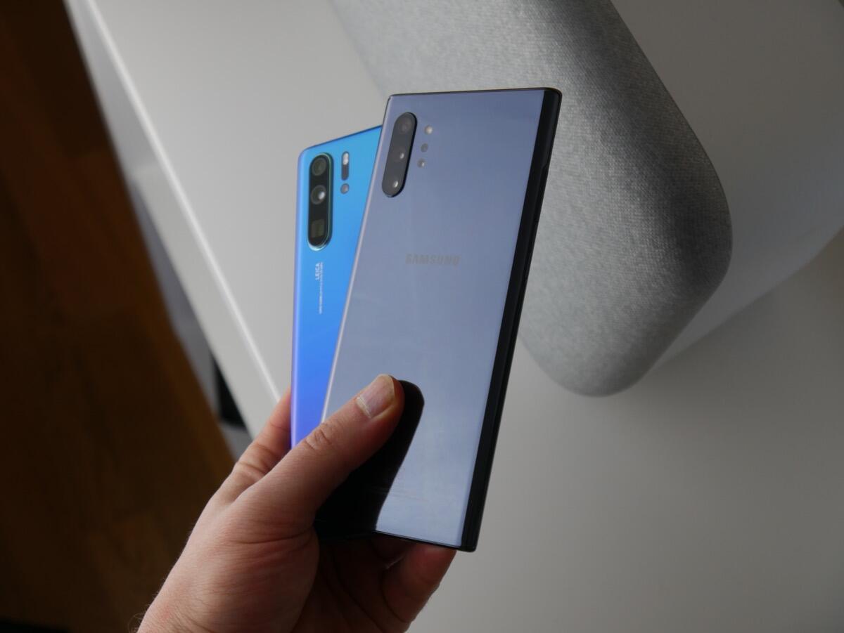 Huawei P30p Samsung Gn10 Test3