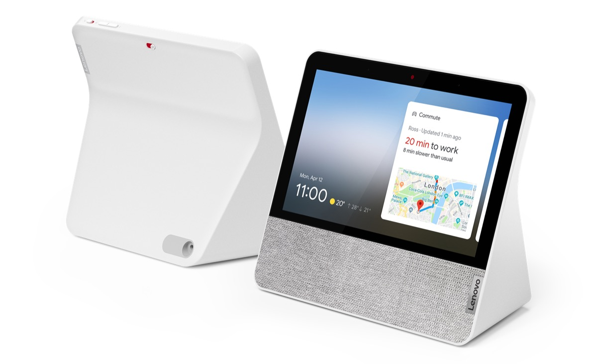 Lenovo Smart Display 7 Front Rear