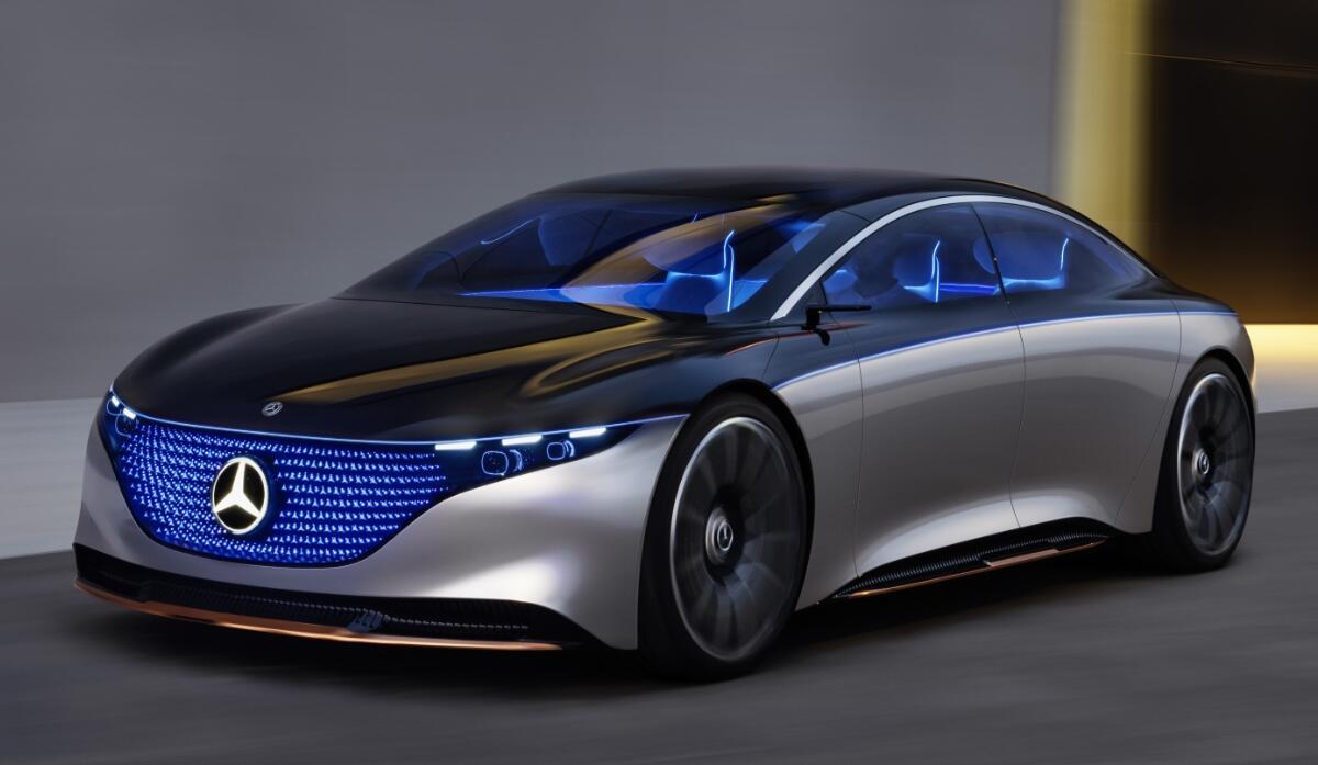 Mercedes Benz Eqs Licht