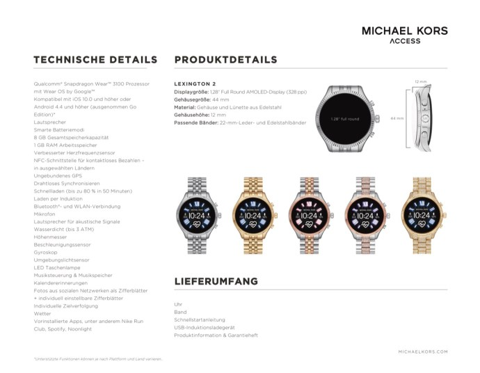 Michael Kors Lexington 2