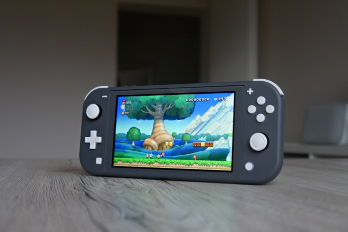 Nintendo Switch Lite Super Mario Header