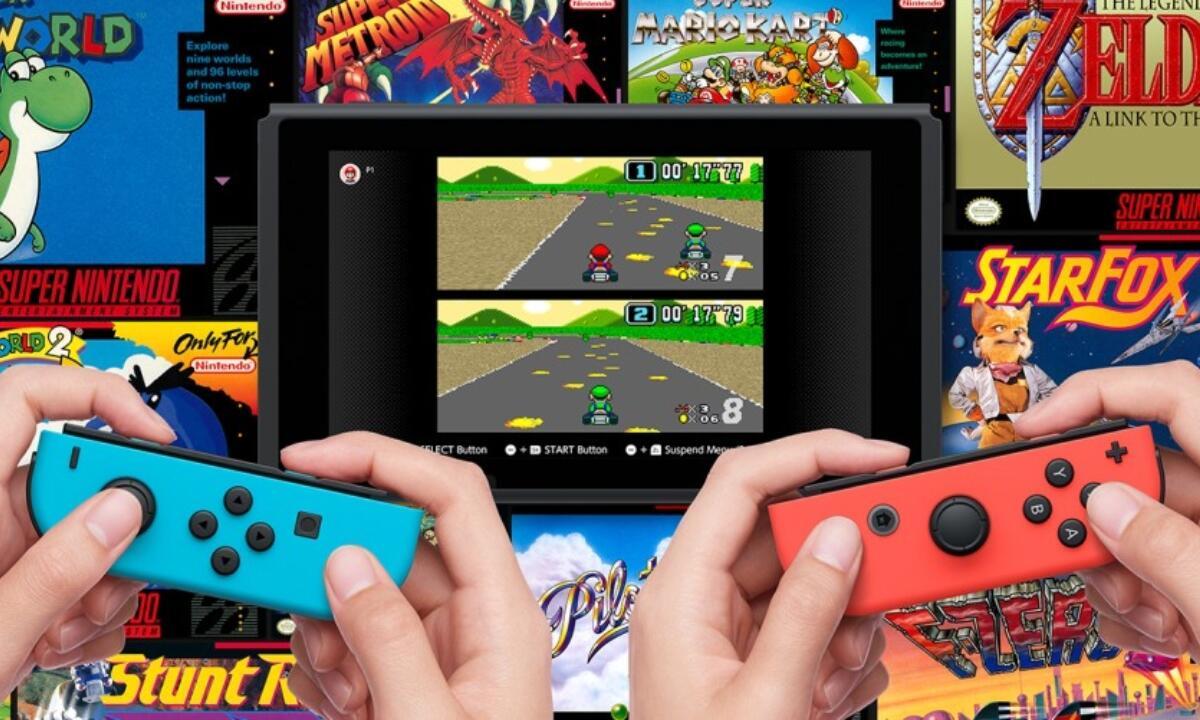 Nintendo Switch Online Snes Header