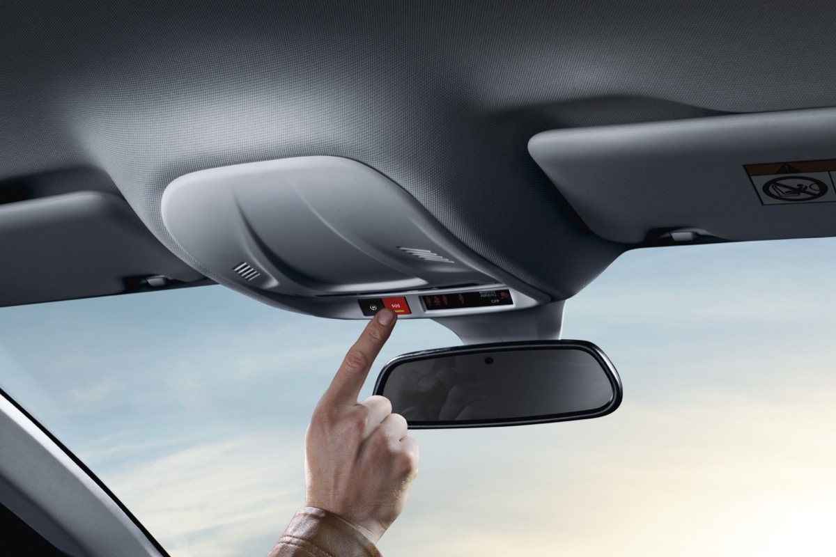Opel Emergency Call Button 508472