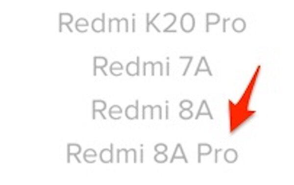 Rdmi 8a Pro Xiaomi Seite