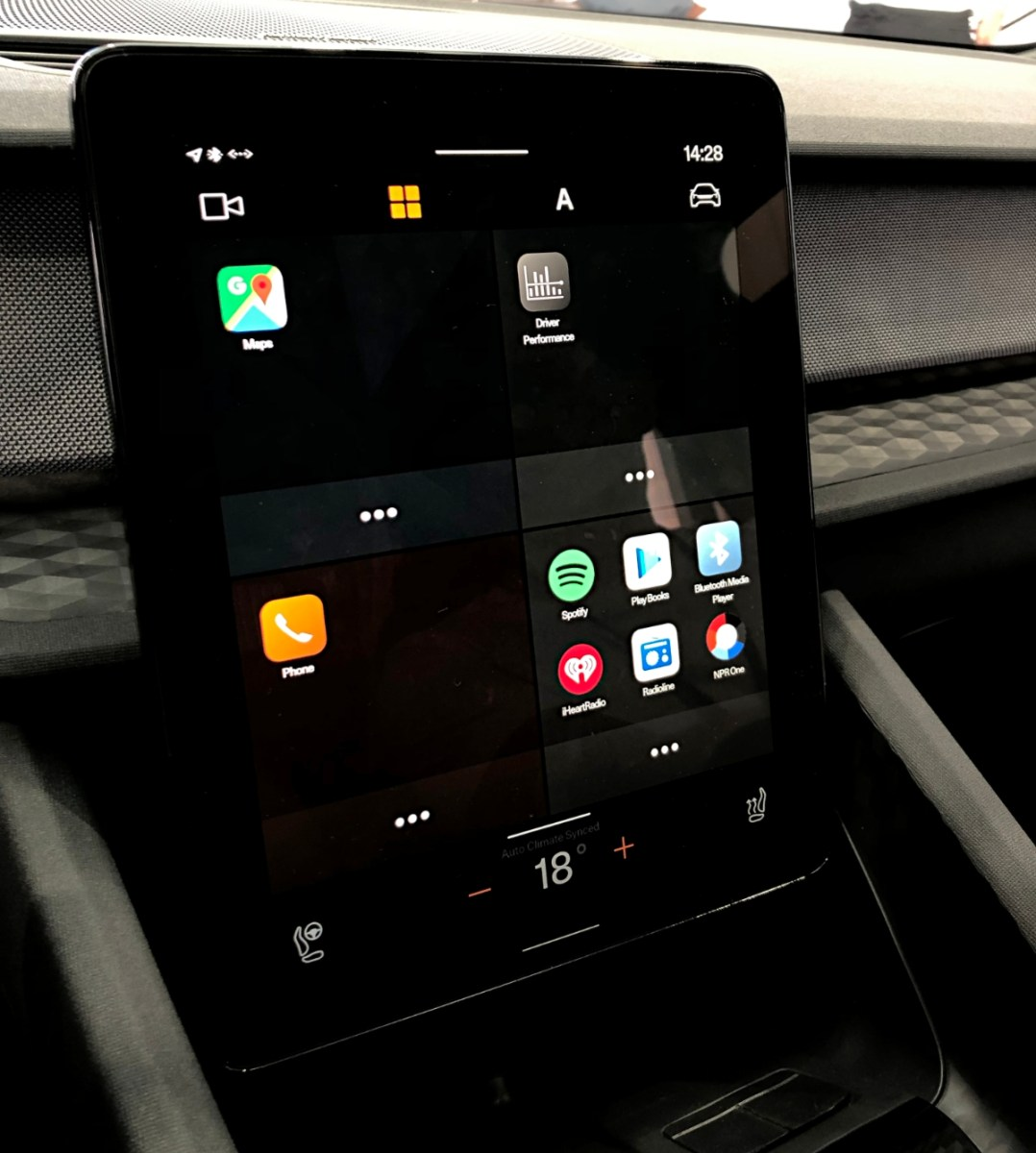 Volvo Polestar 2 Android Auto