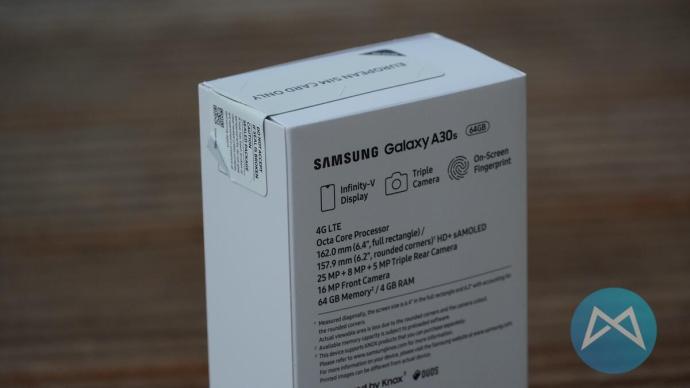 Galaxy A30s Technische Daten