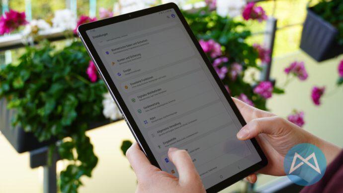 Galaxy Tab S6 Einstellungen