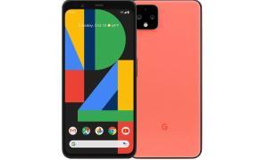 Google Pixel 4 Orange Header