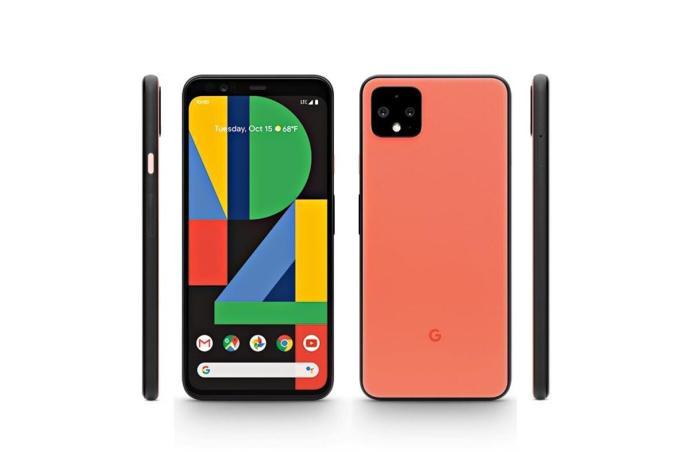 Google Pixel 4 Orange